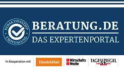 Beratung.de Auszeichnung - Das Expertenportal