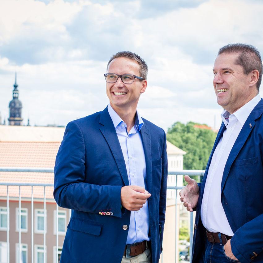 Dresdner Immobilien Beratung - Martin Pohle und Andreas Böhnisch